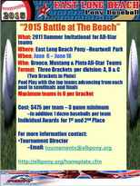 19th Annual Battle at the Beach Invitational Tournament